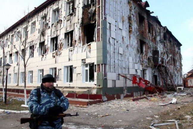 Ecole à Grozny, 2014 Elena Fitkulina/AFP
